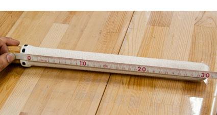 柄革長さの測る位置